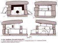 Дольмен составной (чертеж)